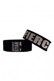 Fierce (Black) Wristband