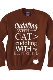 Cat > Boyfriend Sweater
