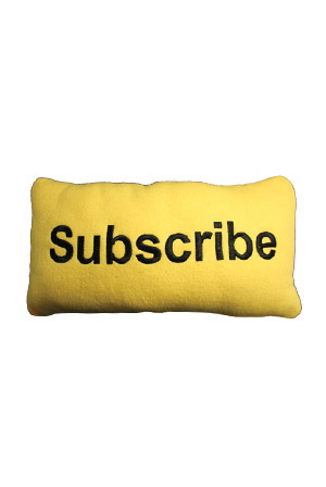 Subscribe Pillow