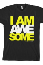 I Am Awesome (Yellow)