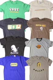 4 Guster T-Shirt Grab Bag