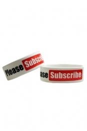 Please Subscribe Wristband