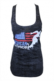 American Mud Race Tank Top (Black)
