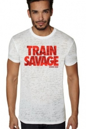 Train Savage Burnout Tee