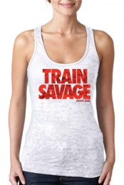Train Savage Racerback