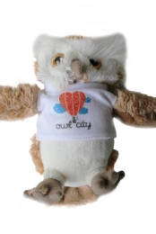 Owl City Stuffed Owl