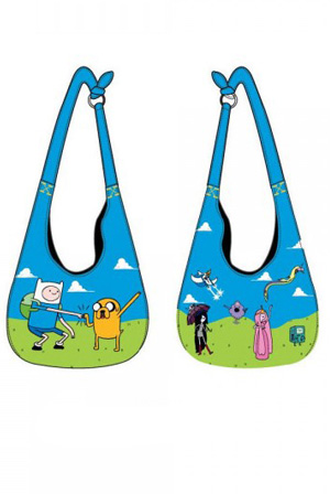 Adventure Time Hobo Bag
