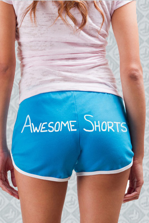 Awesome Shorts (Teal)