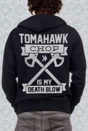 Charcoal Heather Death Blow Hoodie
