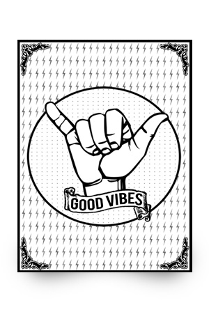 Good Vibes Poster (Signed)
