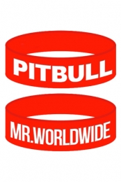 Mr. Worldwide Wristband (Red)