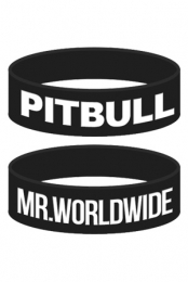 Mr. Worldwide Wristband (Black)