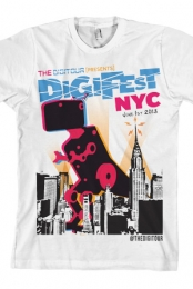 DigiFest NYC Dino (White)