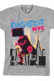 DigiFest NYC Dino (Heather Grey)