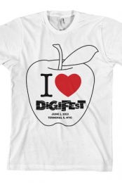 I Heart DigiFest (White)