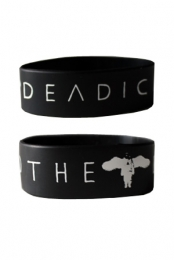The Deadicated Rubber Bracelet