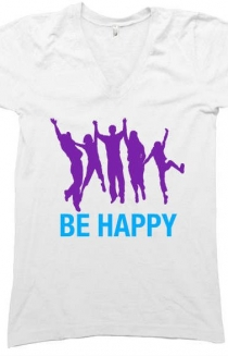 BE HAPPY - Howatgood Media Shrits