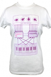 Keyboard Girls Tee (White)