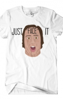 Just Face It (White)