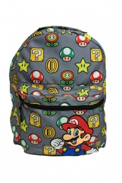 Nintendo Mushroom/Mario Reversible Backpack