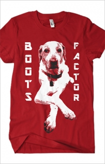 Boots Factor Dog (Red)