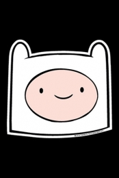 Finn Head Car Magnet