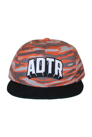Common Courtesy Orange Camo Snapback