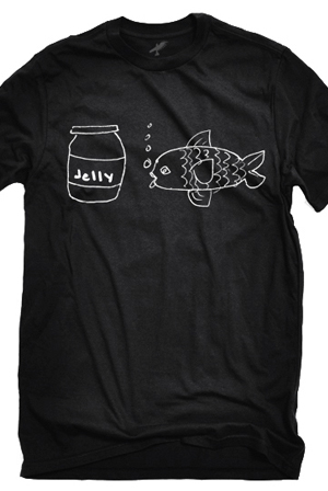 Jellyfish (Black Crew-Neck)