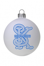 Monogram Holiday Ornament