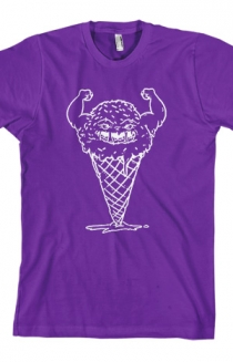 Muscle Cone Tee (Purple)