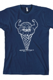 Muscle Cone Tee (Navy)