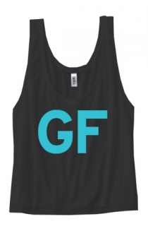 Girlfriend Girl's Flowy Tank