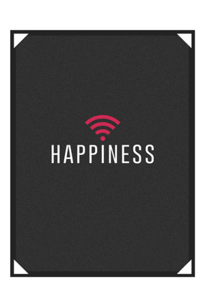 Happiness Poster (Signed)