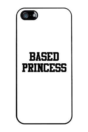 Based Princess iPhone 5 Case