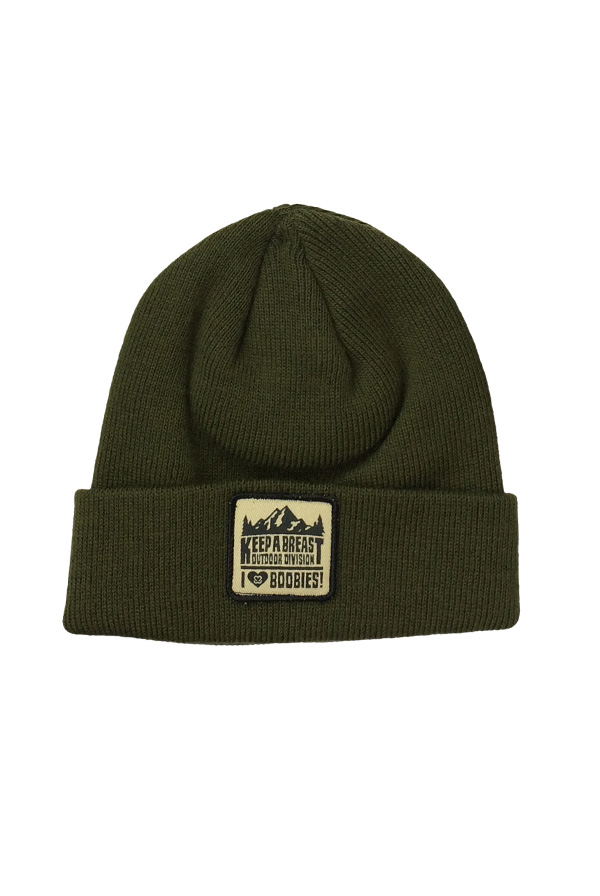 Burl Beanie - Olive Hat - Keep A Breast Foundation Hats - Online Store on  District Lines 3ebc46124cc