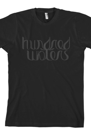 Unisex Logo Tee (Black) T-Shirt - Hundred Waters T-Shirts - Online ...