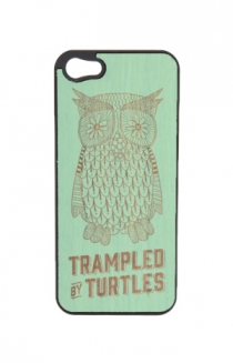 Drawn Owl iPhone 5 / 5S Case (Mint)