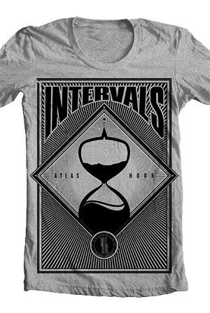 Atlas Hour Tee (Heather Grey)