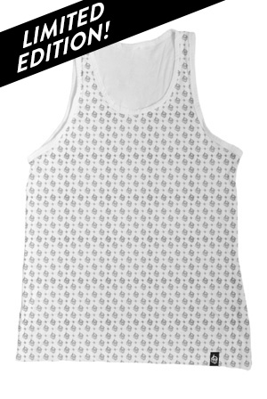Allover Logo Tank (White)