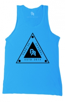 Triangle Tank (Tahiti Blue)