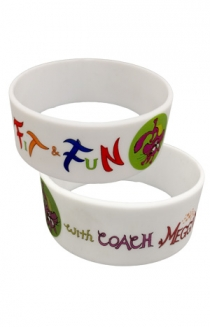 Fit & Fun With Coach Meggin Wristband