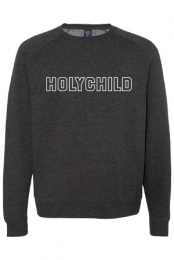 Varsity Logo Crewneck (Heather Charcoal)