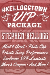 #Kelloggtown VIP Package