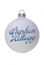 Logo Holiday Ornament