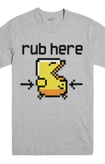 Rub Here Tee (Heather Grey)