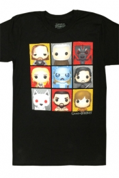 Toons Tee (Black) - Game Of Thrones