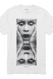 Faces Tee (White)
