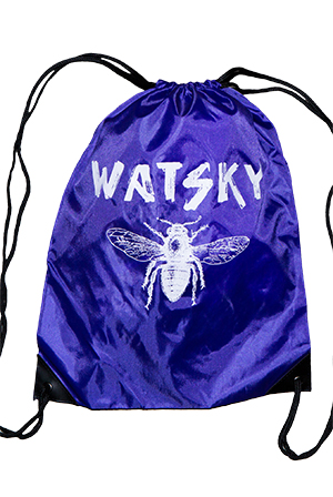 Drawstring Bag (Purple)