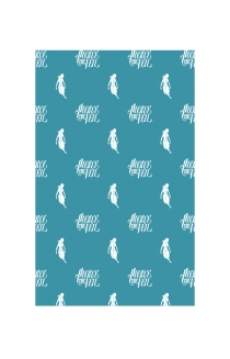Holiday Wrapping Paper (Blue)
