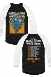 PTV World Tour Raglan 2014 (Black/White)